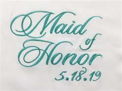 Maid of Honor - Pure White & White