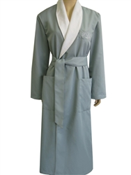 Blue Mist & White Bathrobe