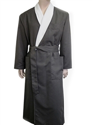 Charcoal & Parchment Bathrobe