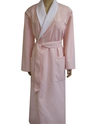 Cloud Pink & White Bathrobe