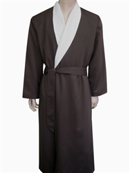 Chocolate & Parchment Bathrobe