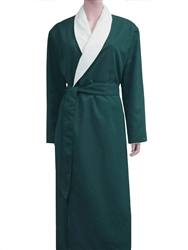 Evergreen & Parchment Bathrobe