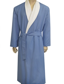 Wedgewood & White Bathrobe