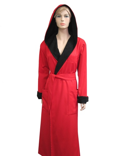 Hooded Robes Mens And Womens Luxury Robes Hooded Bathrobes