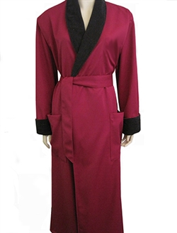 USA Robes - Burgundy & Black