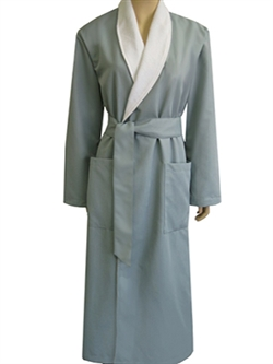 Blue Mist & White Rewards robe