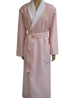 USA Robes - Cloud Pink & White